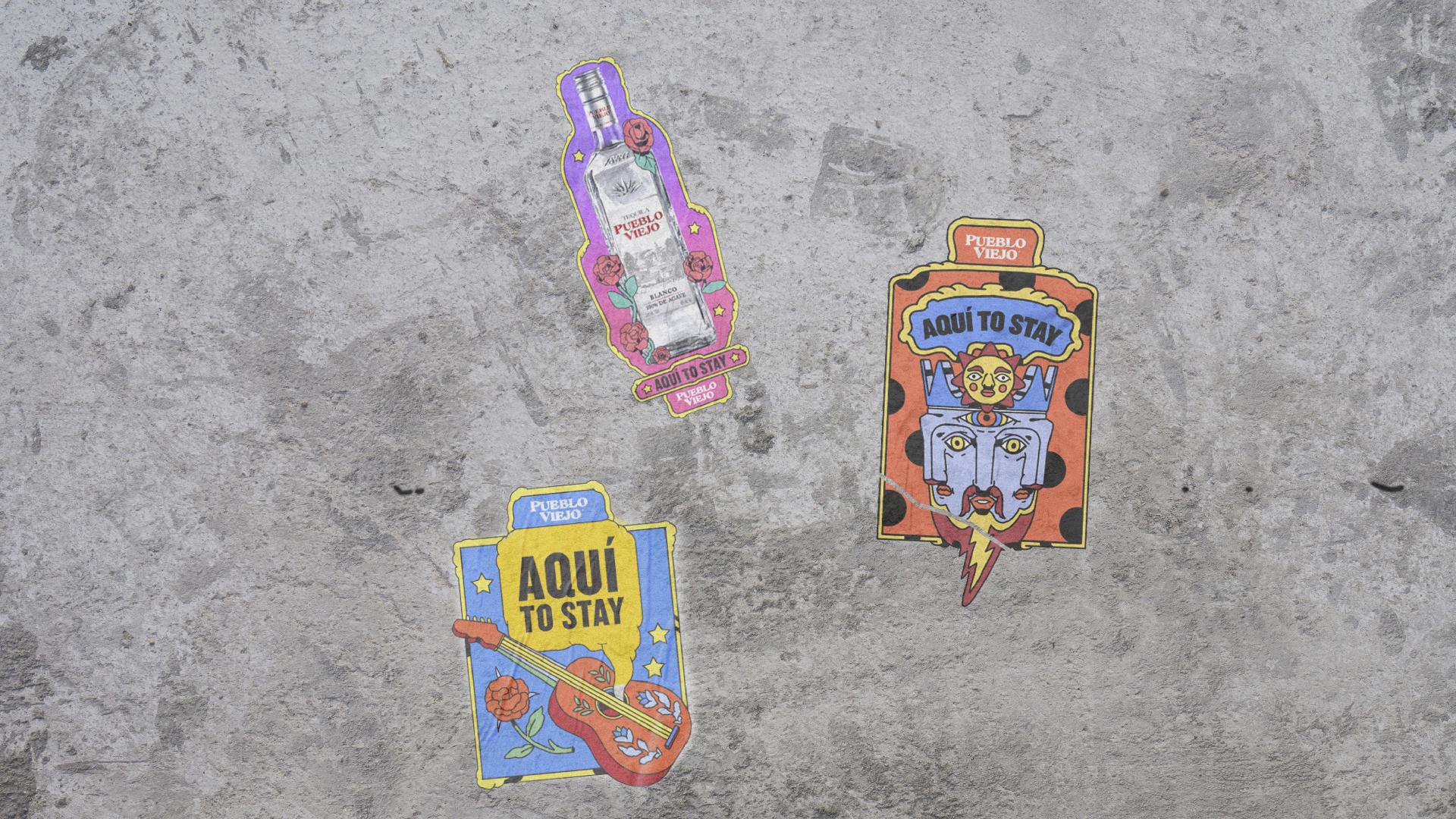 Pueblo Viejo Tequila advertisng campaign