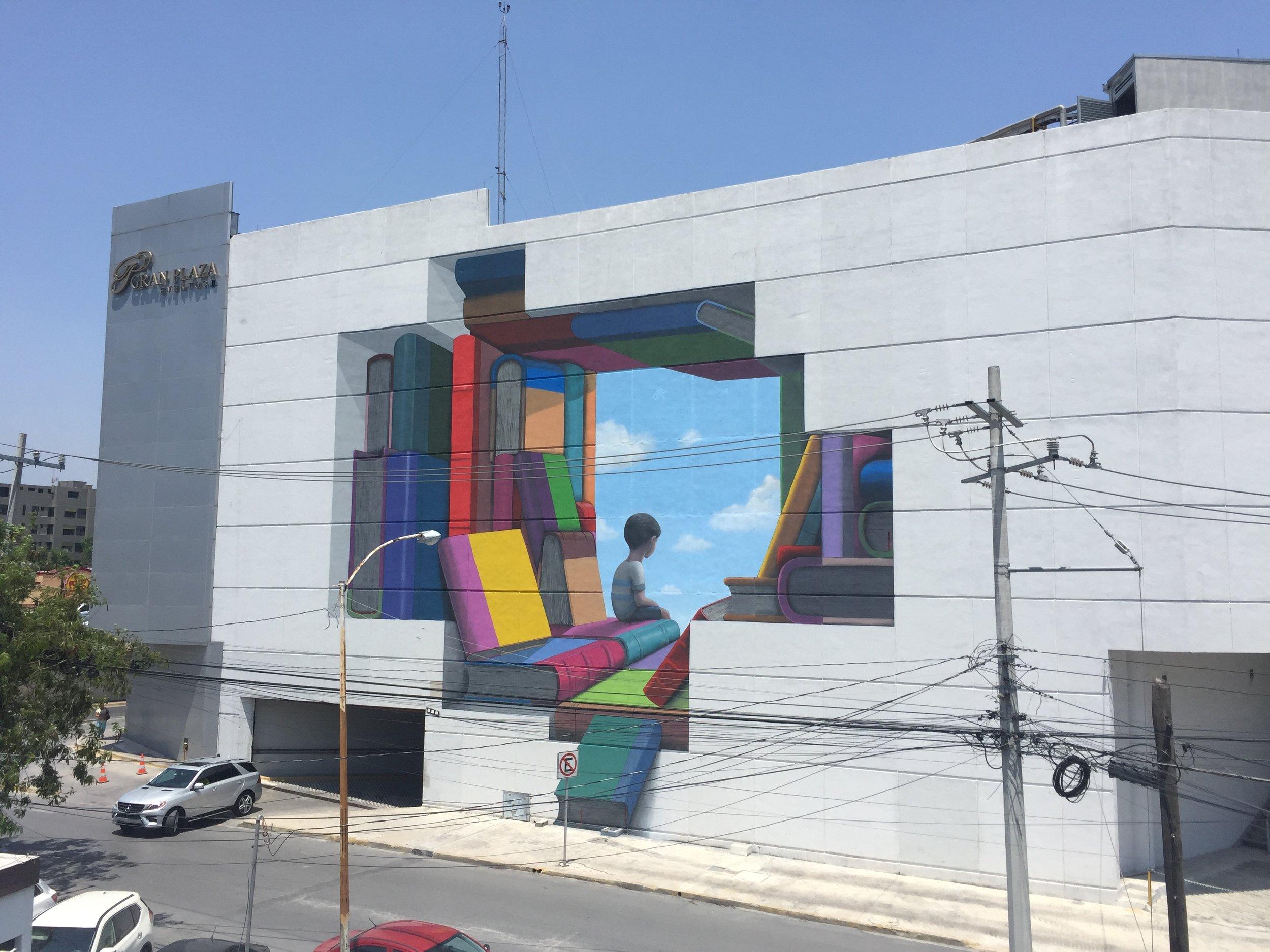 Urban art wall