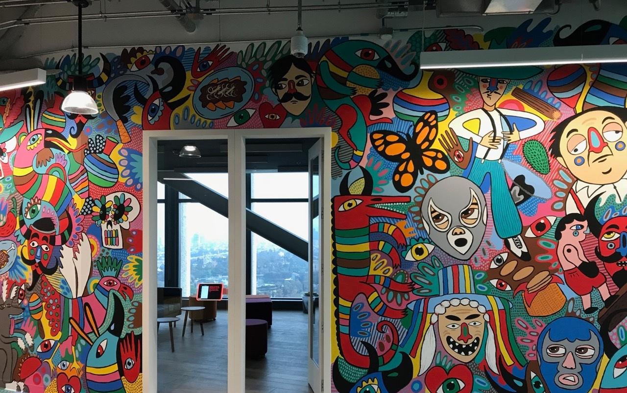 Mexico+art+Facebook+offices