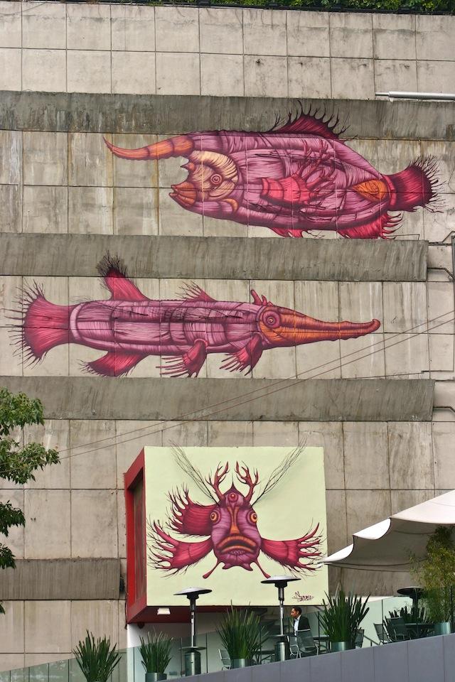 Sego art on big building