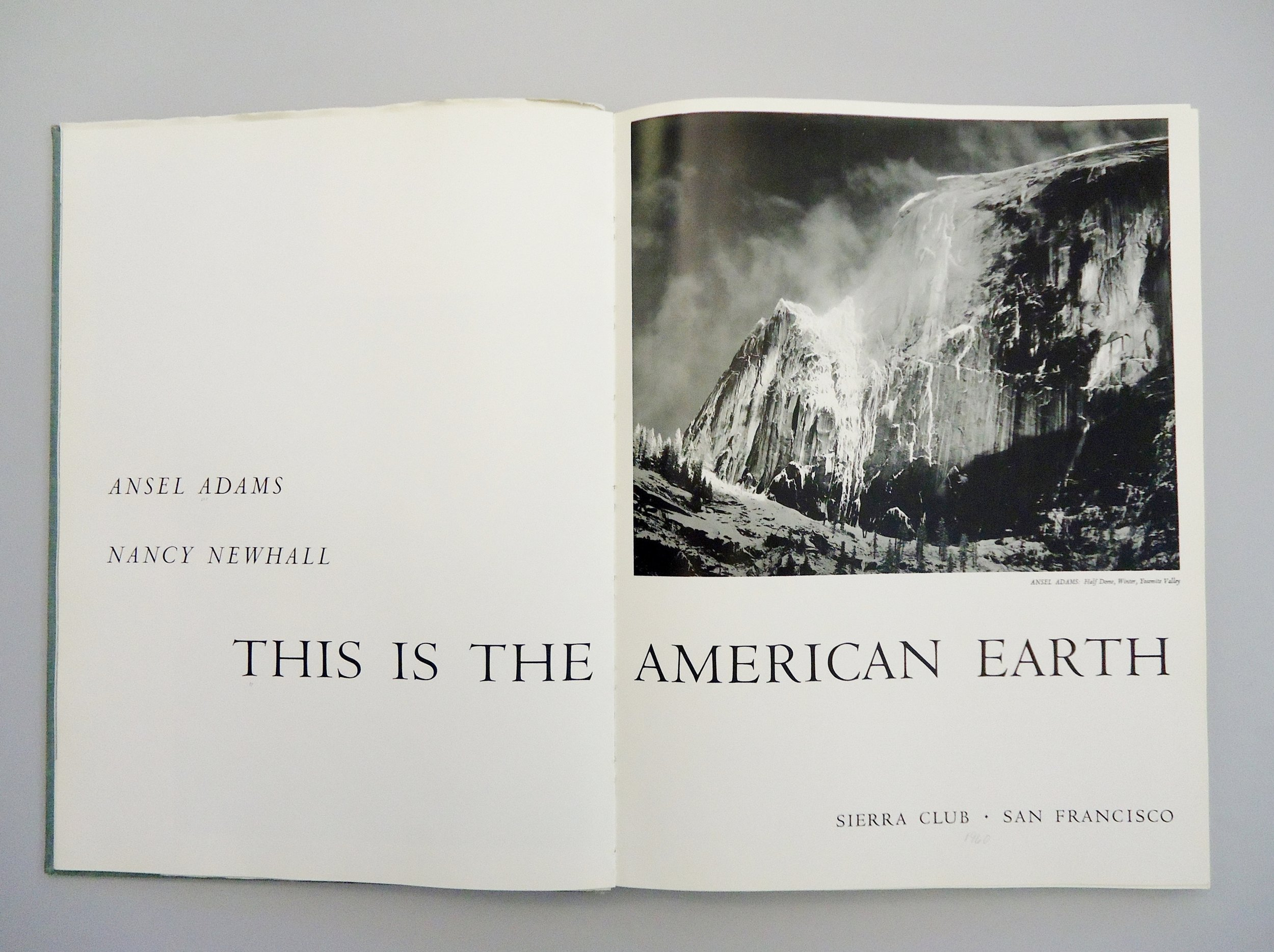 This Is the American Earth,  1960