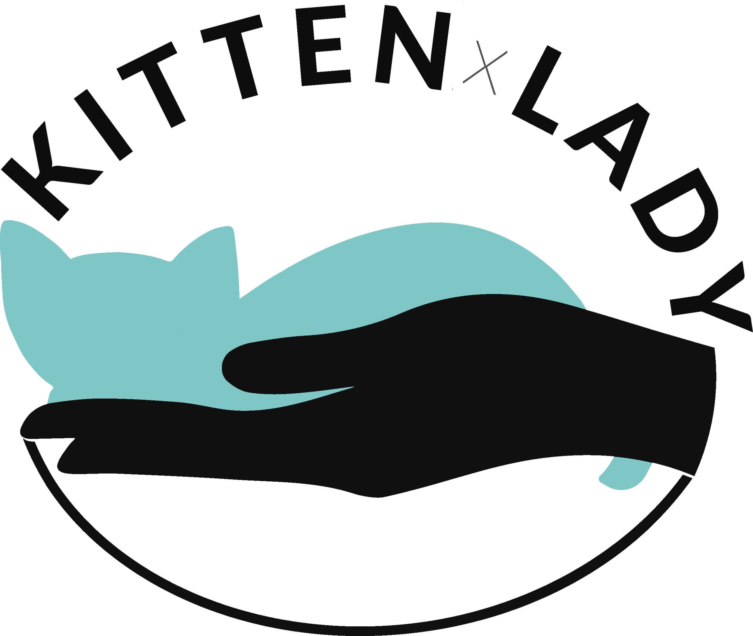 Kitten Lady Logo