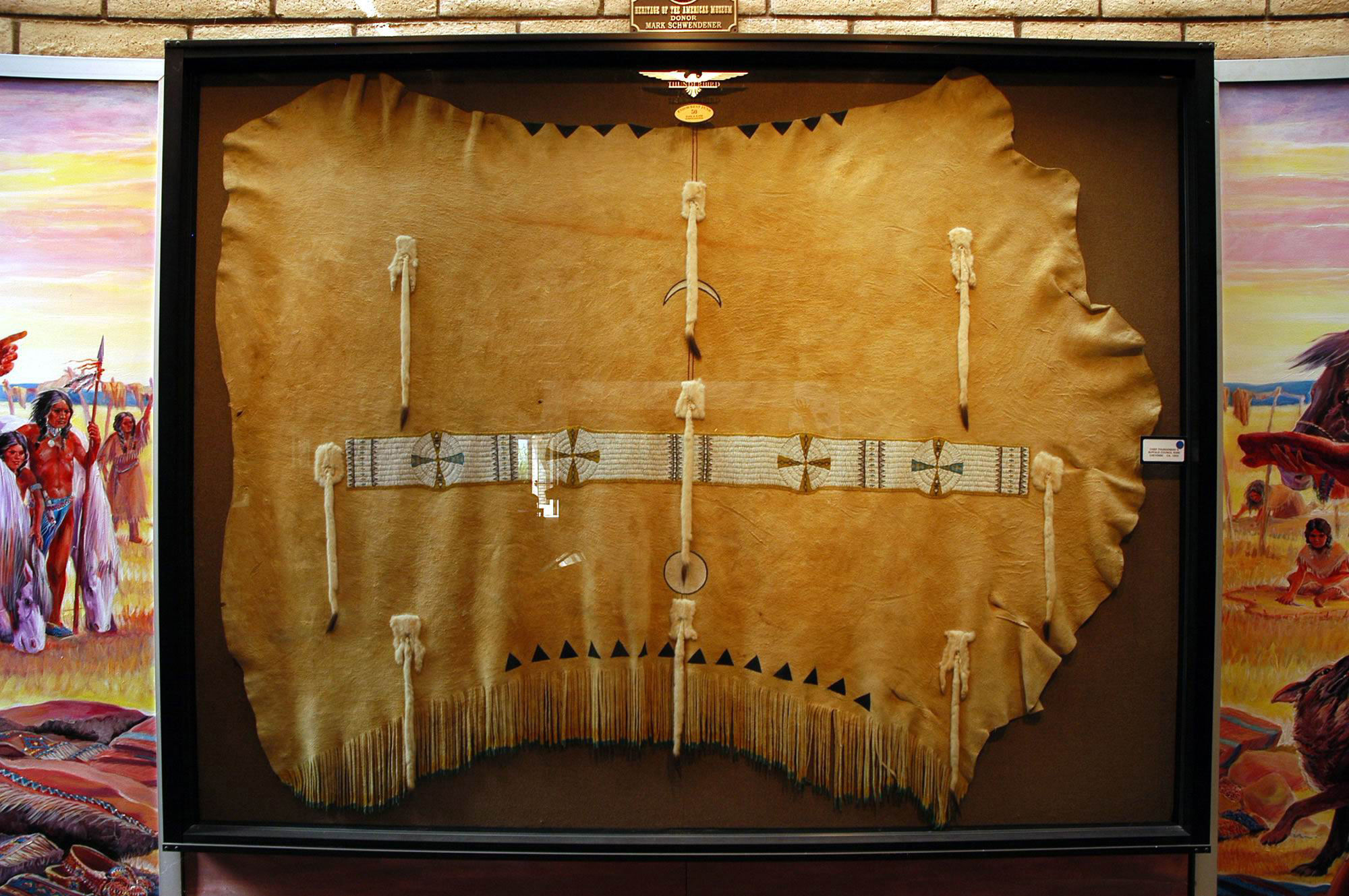 14 Chief Thunderbird's Council Robe 1900 Cheyenne.jpg