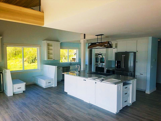 We've had a busy season so far! Check out the fine interior finishes in this home. Big thanks to the RPG crew! . . . #rogerspaintgroup #residentialpainting #homeimprovement #porttownsend