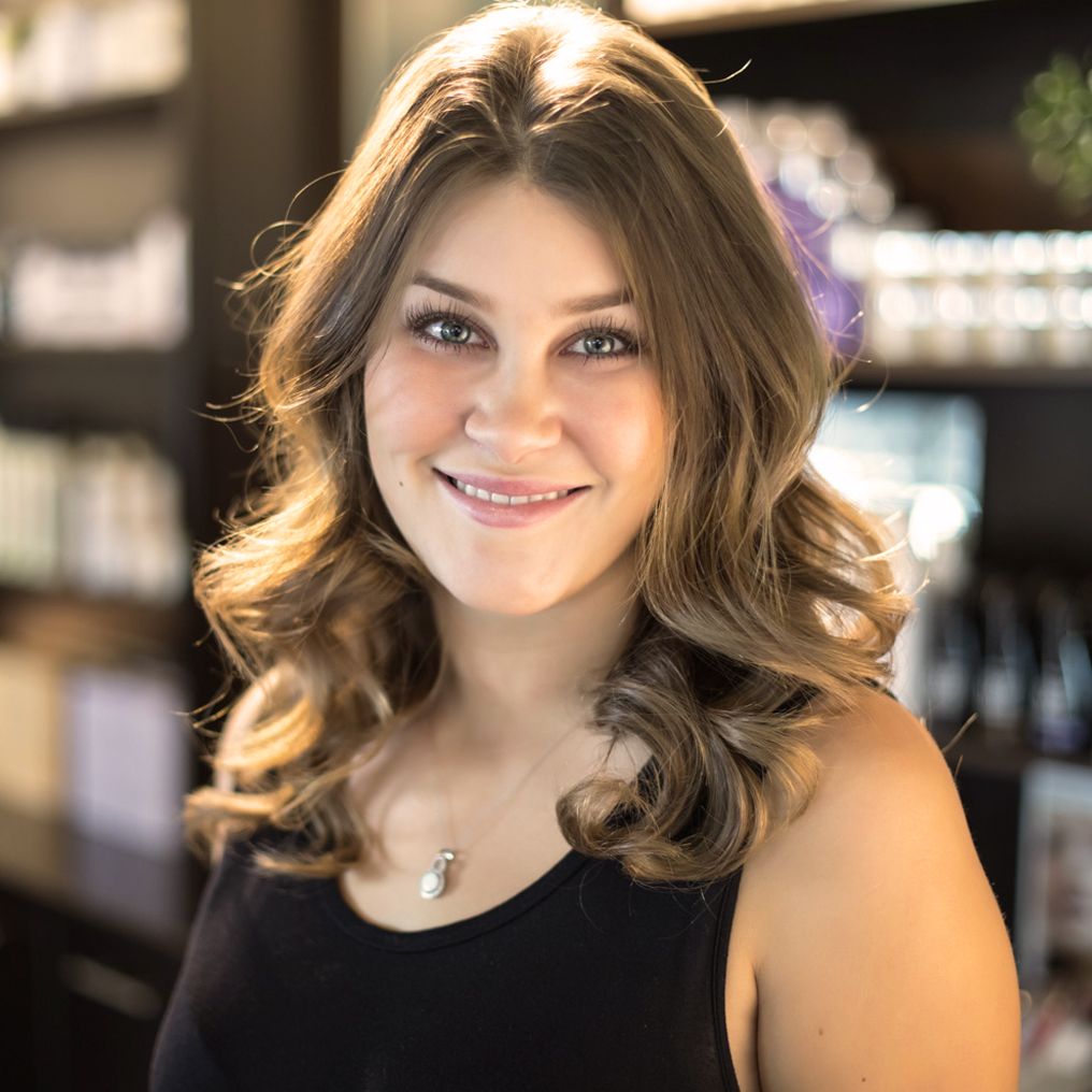 JESSA - HAIR DESIGNERHave you met Jessa yet? Enthusiastic, outgoing, driven, team player are just some of the ways we would describe her.Jessa completed our in house Protégé Program alongside Brandie, where she excelled in advancing her styling and colouring skill sets. Jessa graduated hair school in early 2015 and started with Mystique in Sept 2016. Jessa prides herself on being an Extension Specialist where she takes the utmost care in her guests' natural hair's health, and making the extensions virtually undetectable. From Hairpainting to smoothing treatments Jessa's artistry excels with her guests of all ages. If you haven't experienced a scalp massage and bombshell blowout from Jessa, make sure you book in soon! Jessa is a breath of fresh air at Mystique and is our highly motivated-no excuses-go-getter with a side of wit.Jessa loves the family atmosphere within Mystique and strives to make every day in the salon a fun experience for everyone. Jessa had the opportunity to teach alongside Stephanie in Nepal in March of 2019 and continues to be a highlight of her hairdressing career thus far. Davines provided a unique opportunity for education and travel, and was able to offer Jessa a trip to Iceland in May 2019.