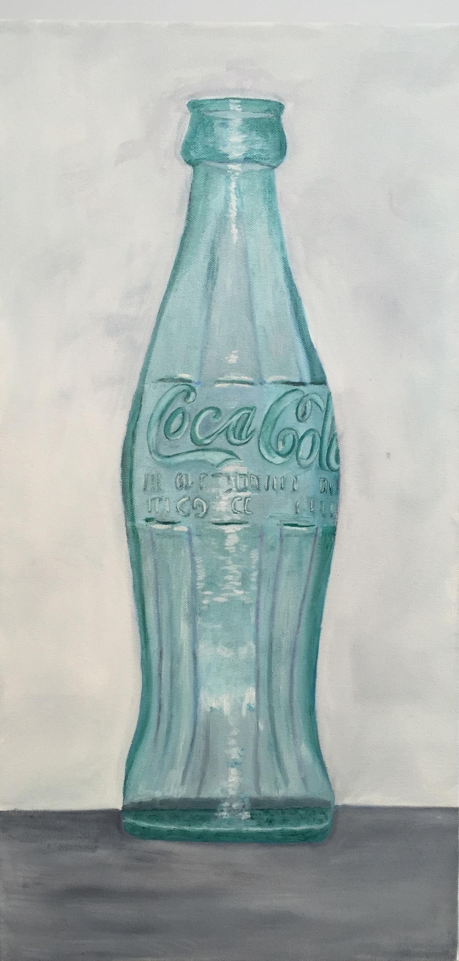 """Coke Bottle, Oil on Canvas, 22""""x12"""""""
