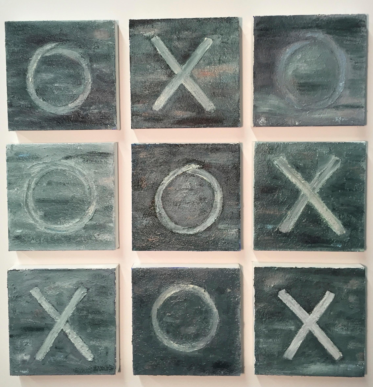 "Equilibrium, Oil on Canvas, 26"" x 26"""