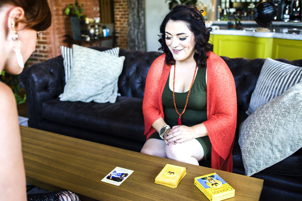 Intuitive Business Readings - Chynna also offers Intuitive Business Readings that can be added on to your workshop event.