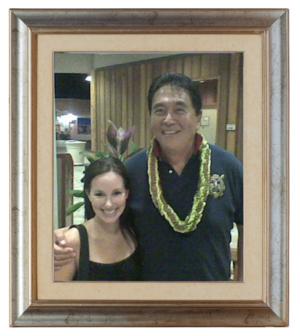 Robert Kiyosaki and myself in Honolulu, Hawai'i.