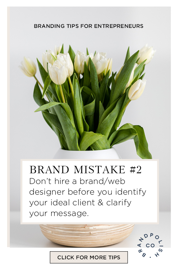 HILARY HARTLING BLOG: MISTAKE #2 Brand & Web Designers, Don't' Hire When You're Not Clear On Your Brand
