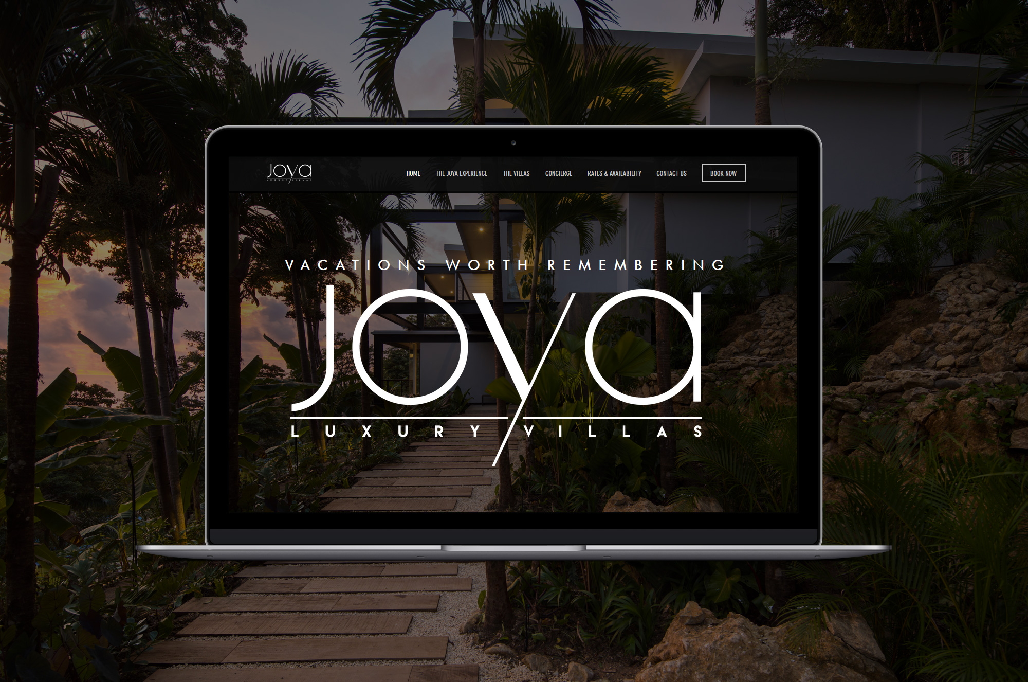 "JOYA VILLAS CR<a href=""/joya-villas""><br>→</a>"