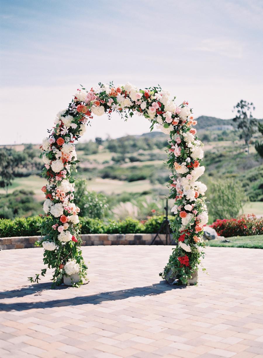 Romantic Hillside Wedding