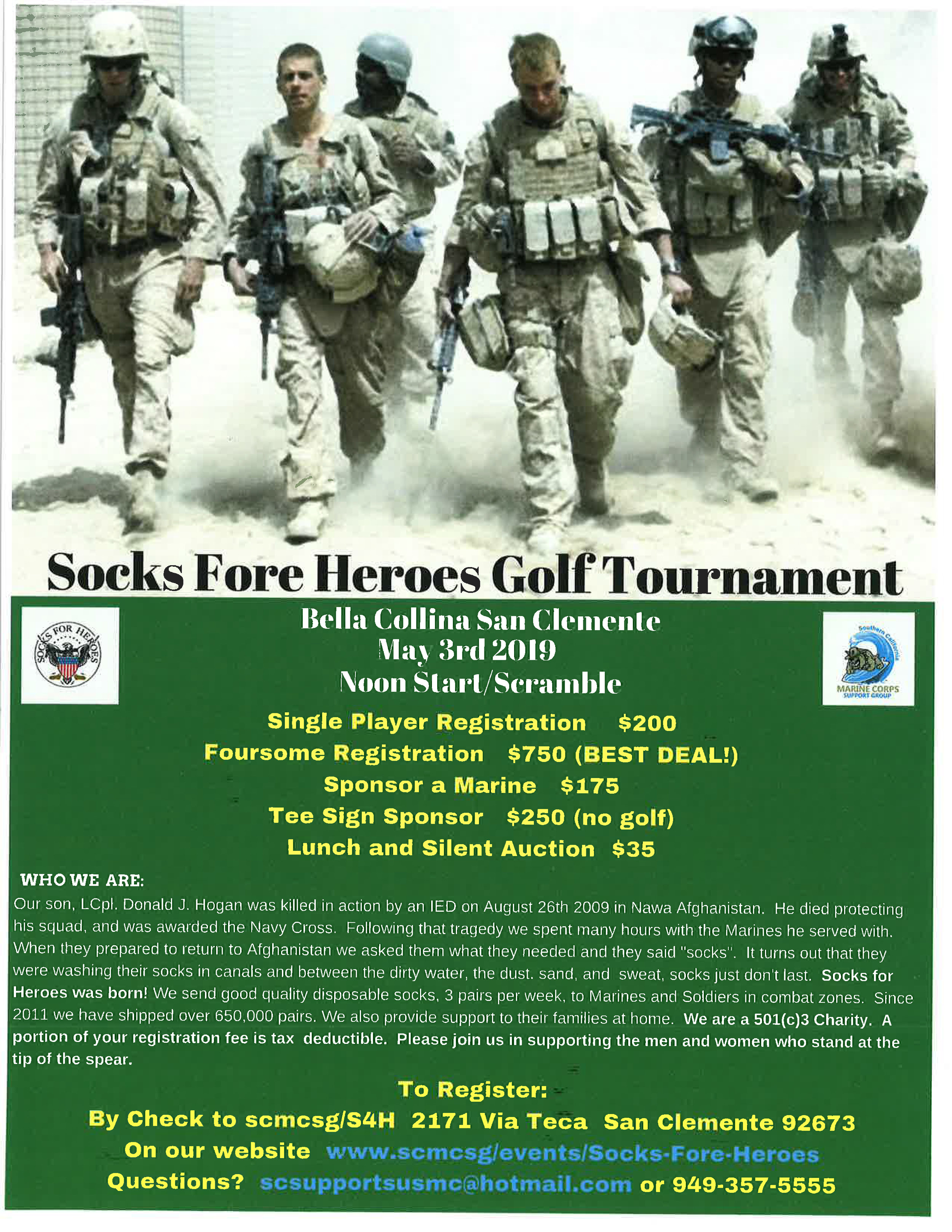 Socks Fore Heroes Golf Tournament Flyer.jpg