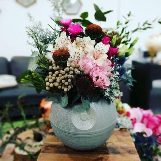 Via Bridal Guide    //    Death Star Vase