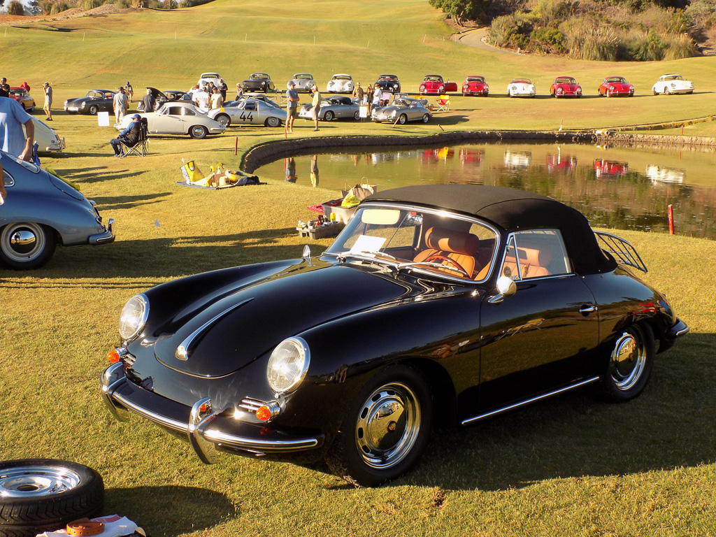 Classic Porsches 'Surf the Road' to San Clemente at Bella Collina