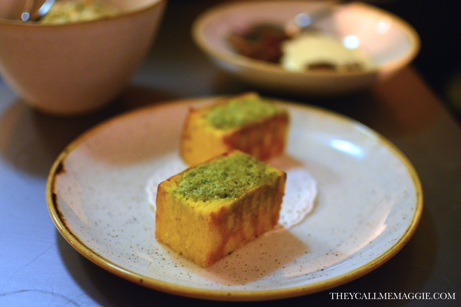 corn bread with jalapeno butter