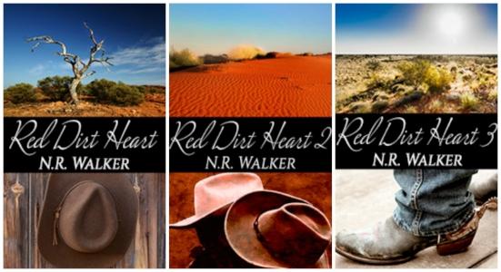 N.R. WALKER'S acclaimed RED DIRT HEART SERIES
