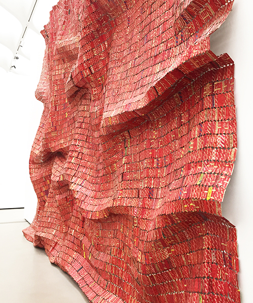 EL ANATSUI  | RED BLOCK