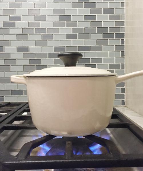 Zucchini Rice Cooking