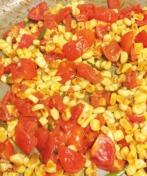 Tomato Corn Sauté