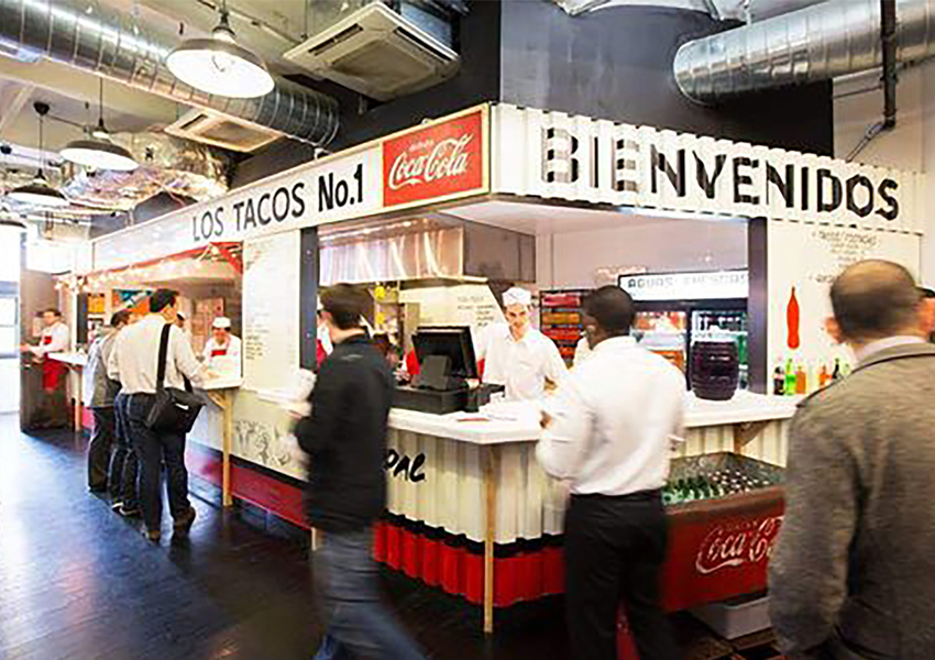 Los Tacos No. 1 Chelsea Market NYC