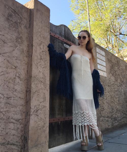 Canyon Child Serrano Crochet Dress