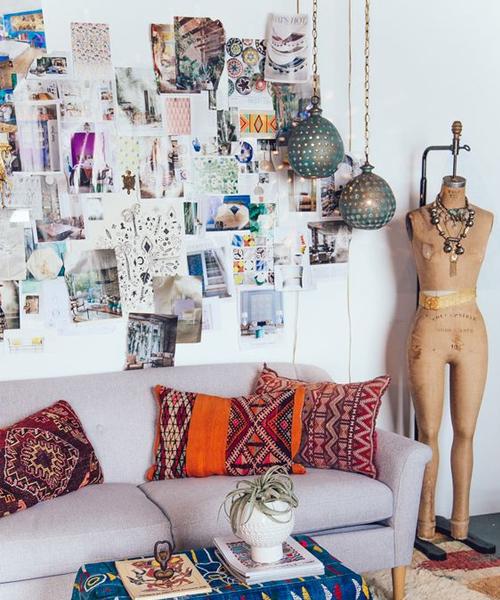 Bohemian decorative pillows