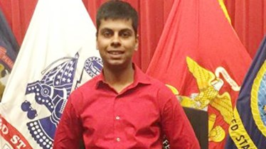 Raheel Siddiqui, 20, of Taylor, died during U.S. Marines boot camp training in South Carolina in March 2016. (Photo: Family photo)