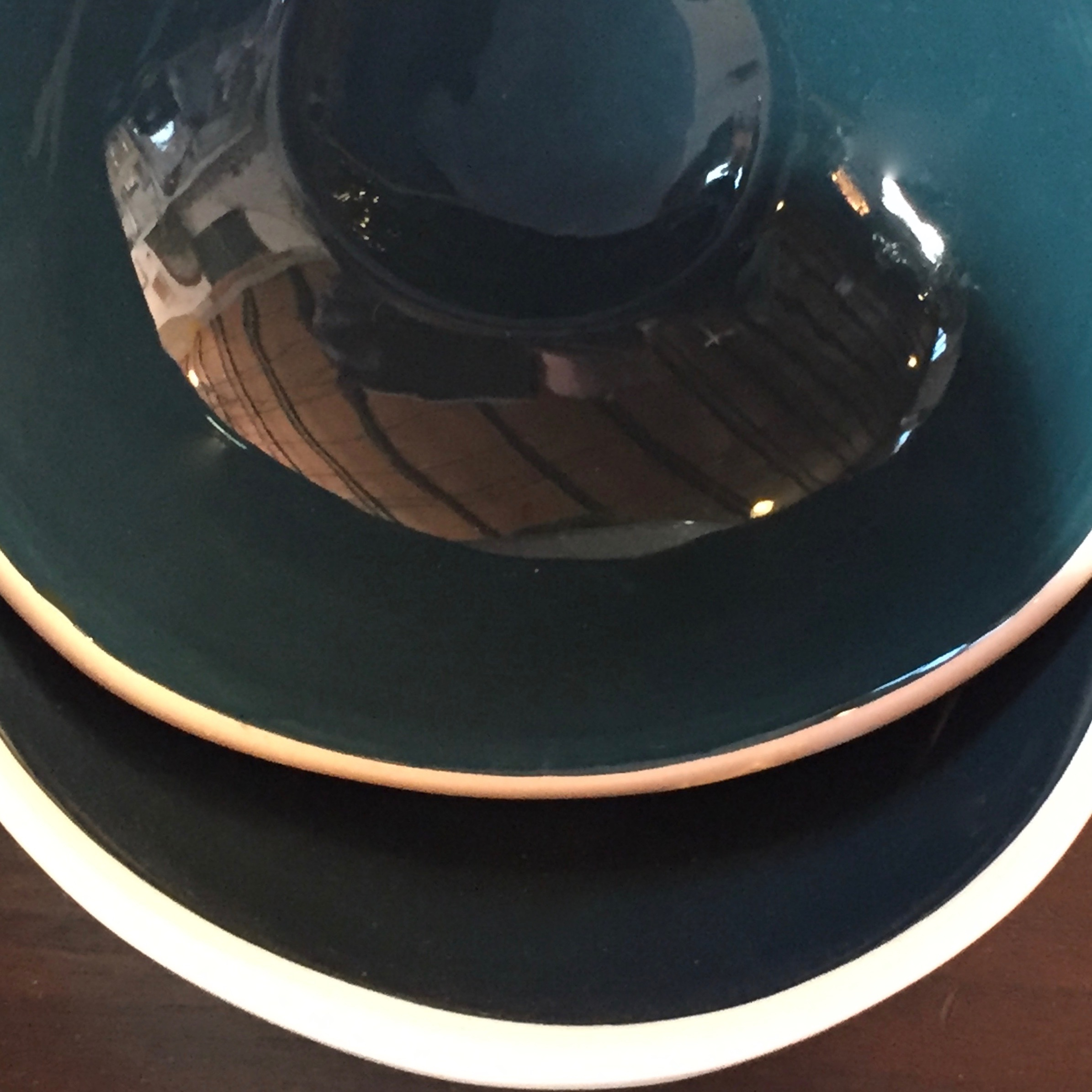 Teal Bowls