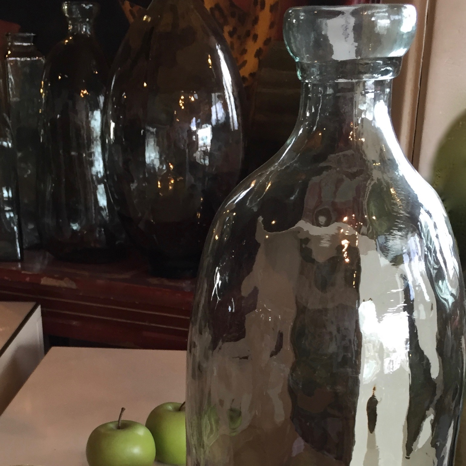 Collection of  Large Glass Bottles