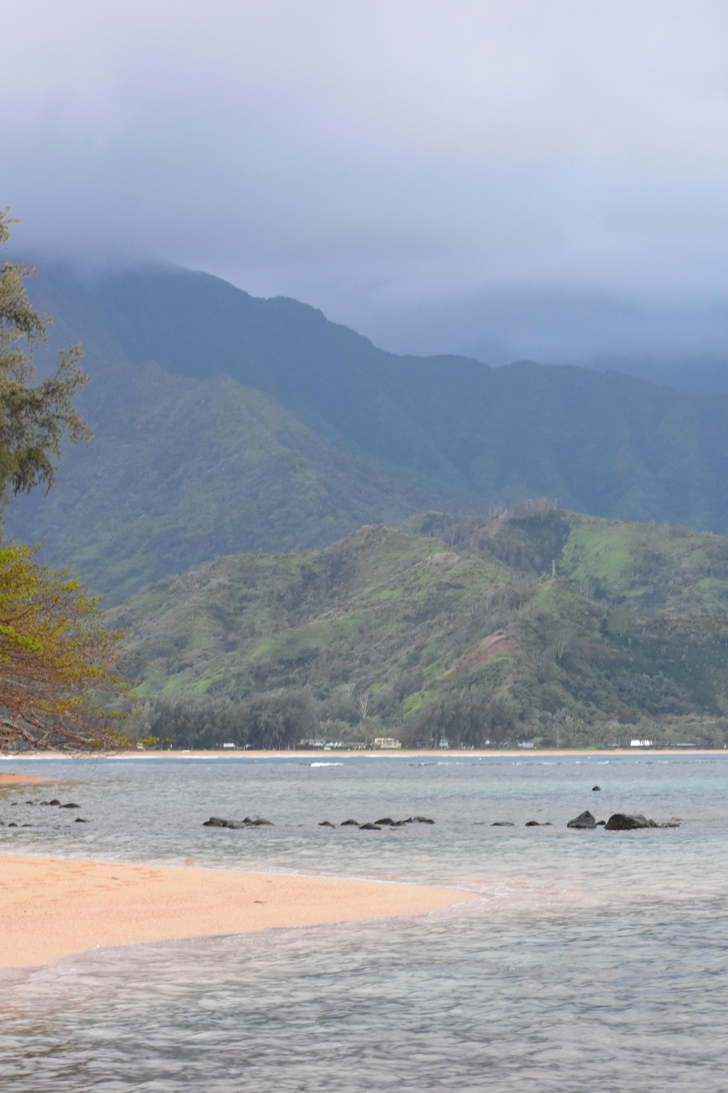 private stretch of beach near Hanalei Bay Resort