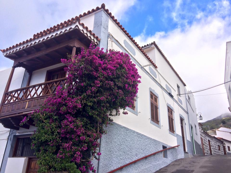 Beautiful streets of Tejeda, Gran Canaria