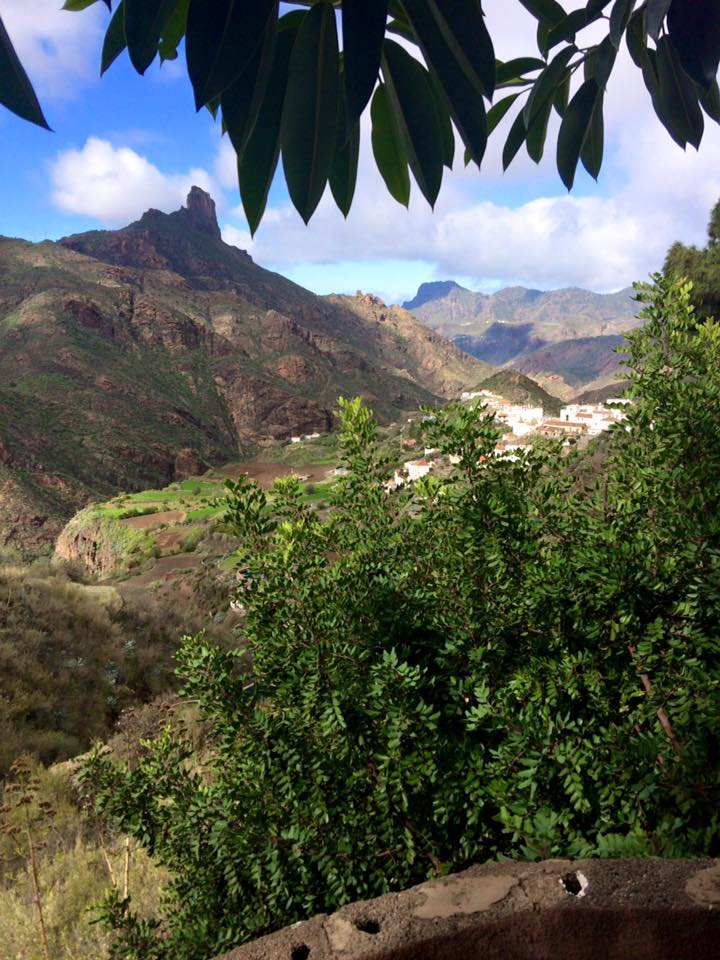 Turning the corner to find Tejeda, Gran Canaria