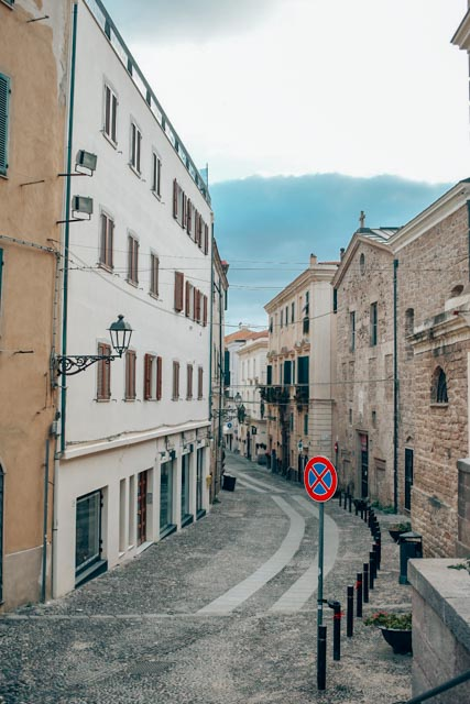The streets of Alghero
