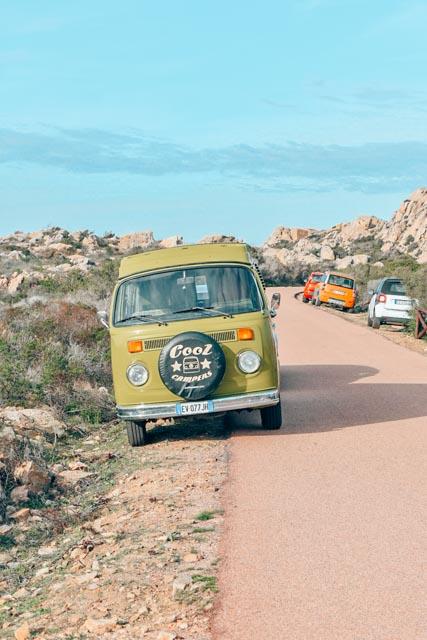 Campervan rental - Sardinian Roadtrip