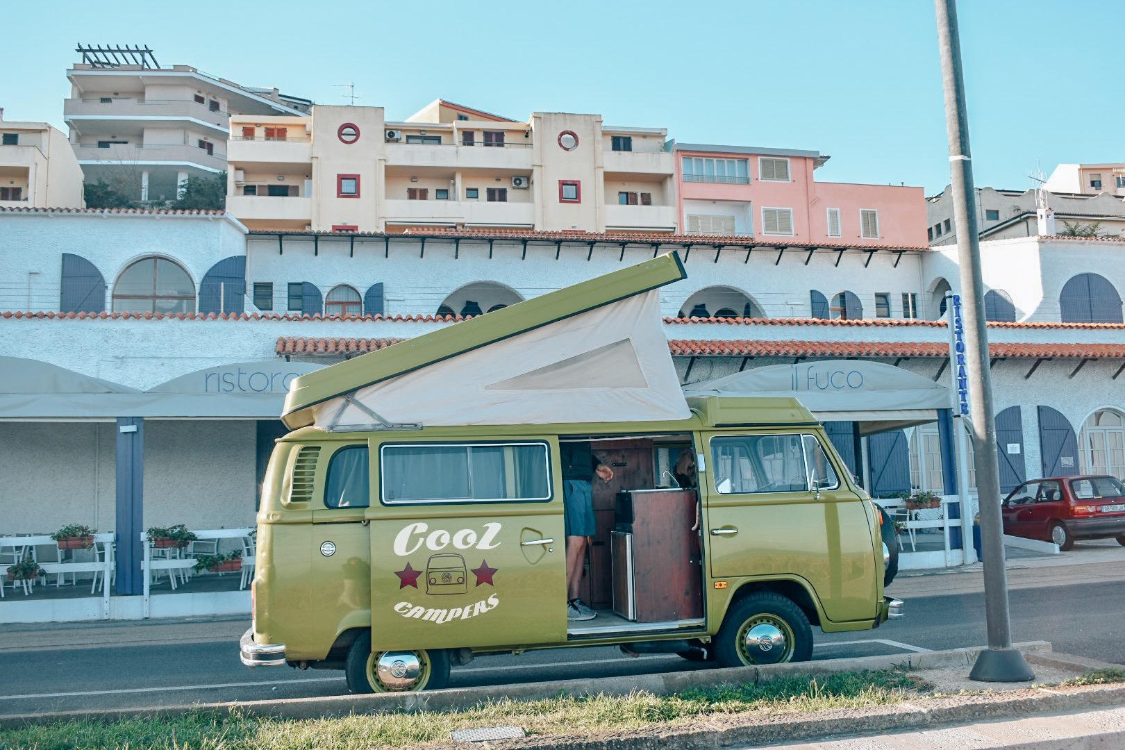 Off season camping in Sardinia
