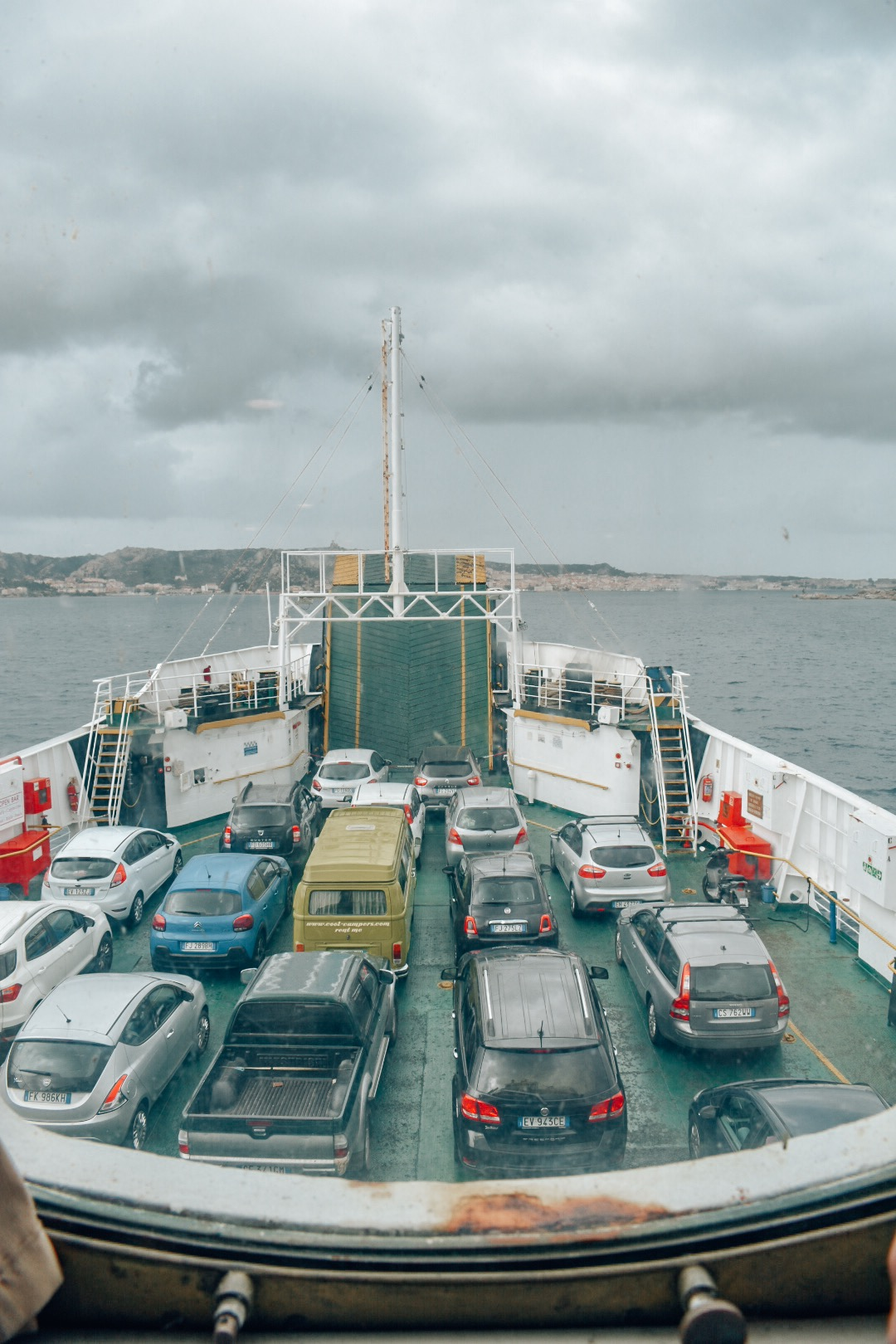 Ferry ride to La Maddalena