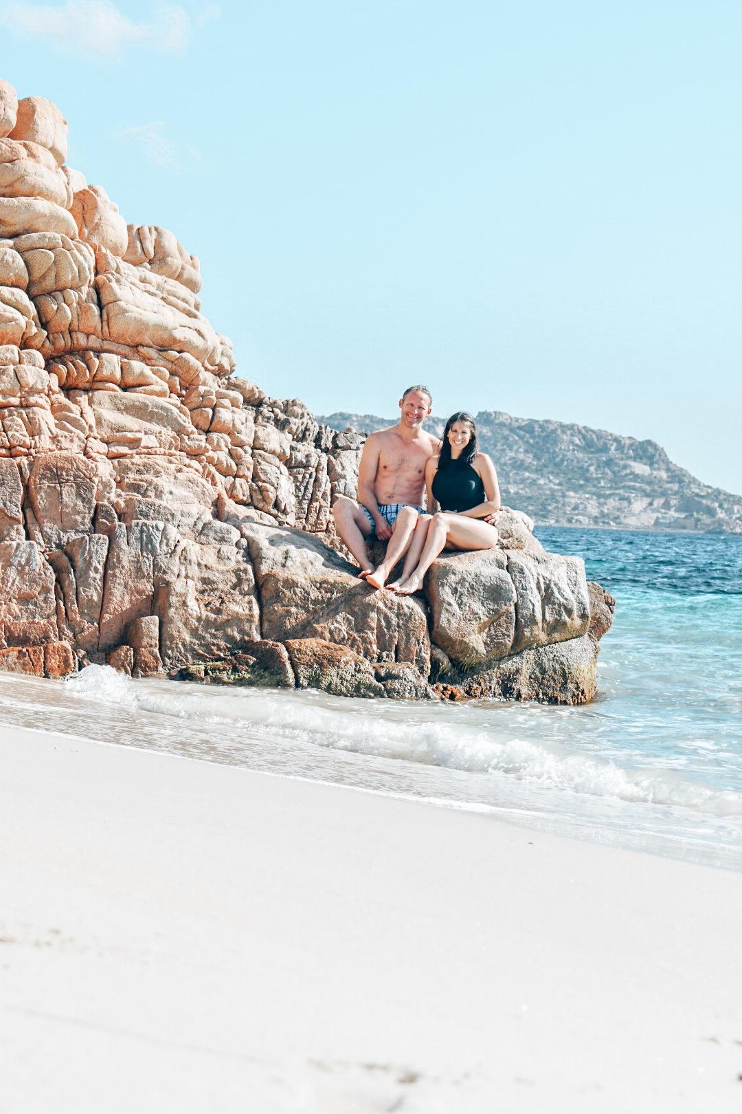 The white sand beaches of Sardinia, Italy