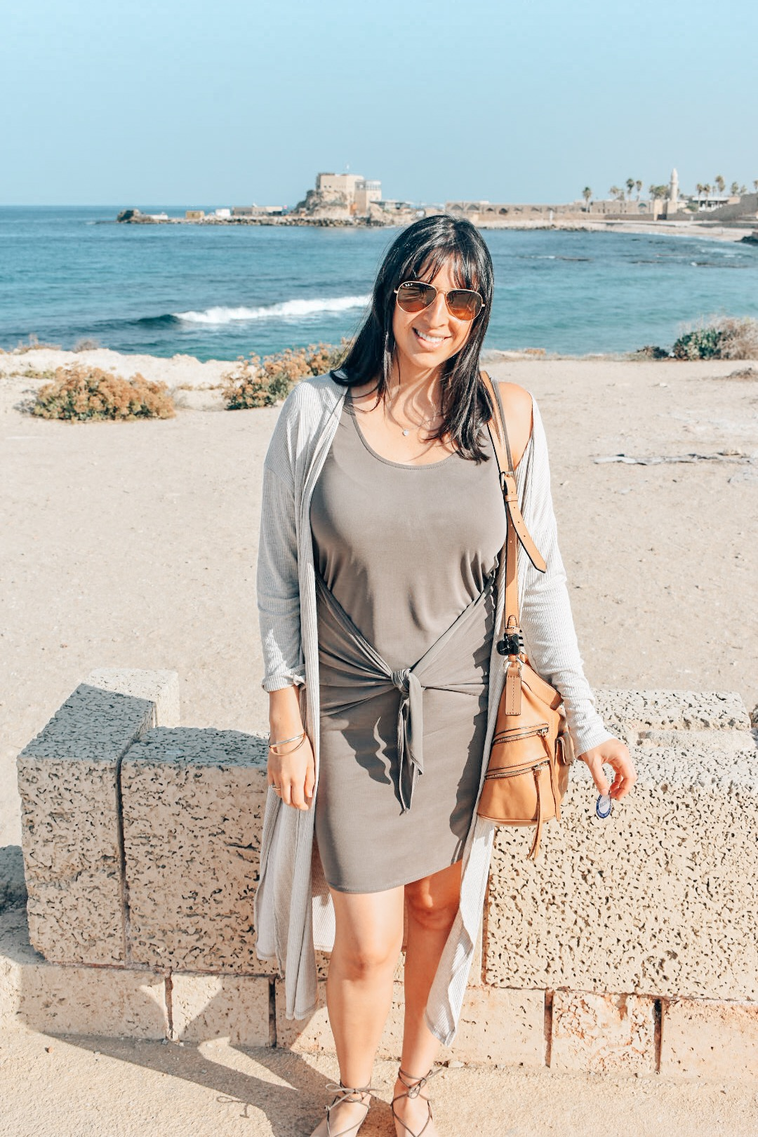 Would you believe I'm 4 months pregnant in this shot? Making the most of my time in Israel.