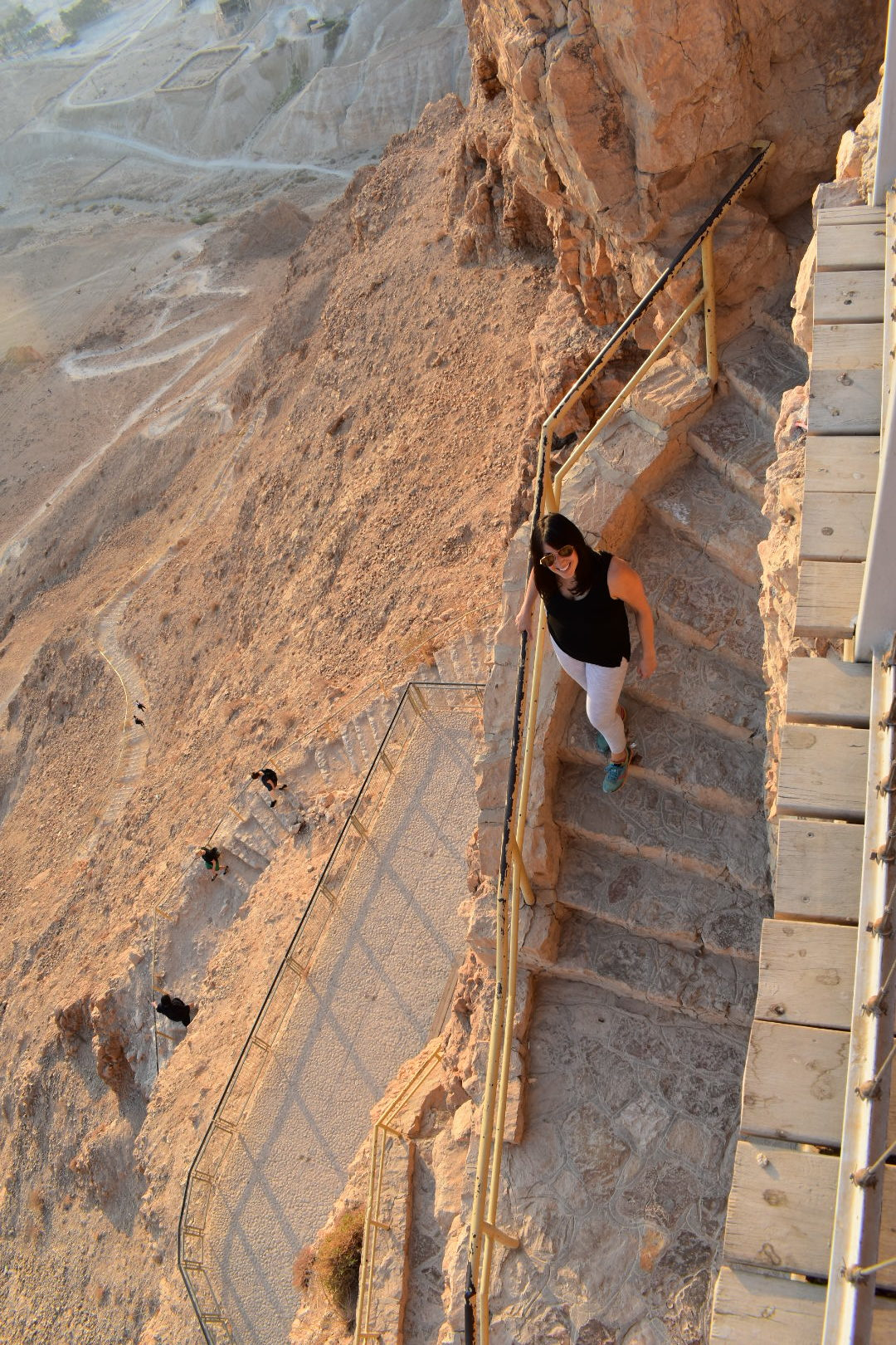 Masada's Snake Trail - Places to go in Israel