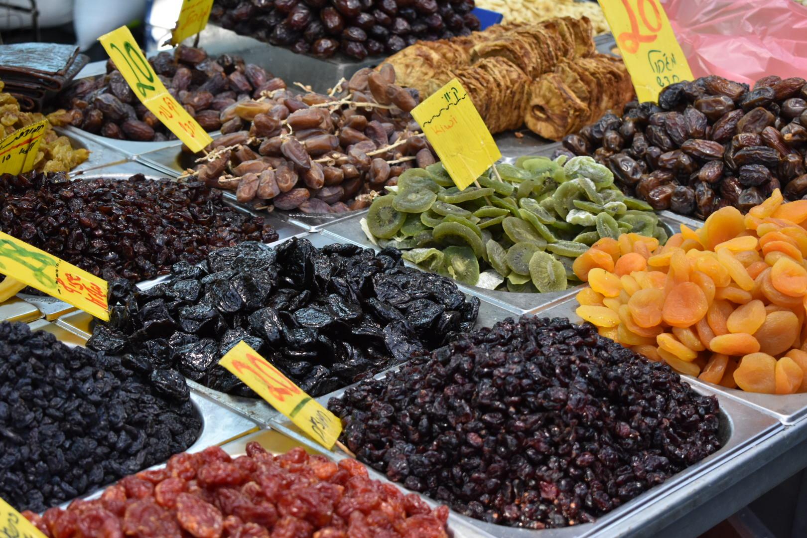 The markets of Israel - Mahine Yehuda
