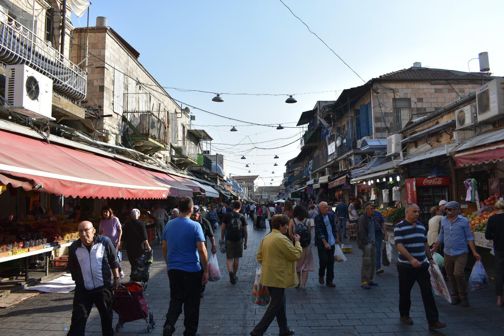 Markets in Israel - Mahine Yehuda, Jerusalem