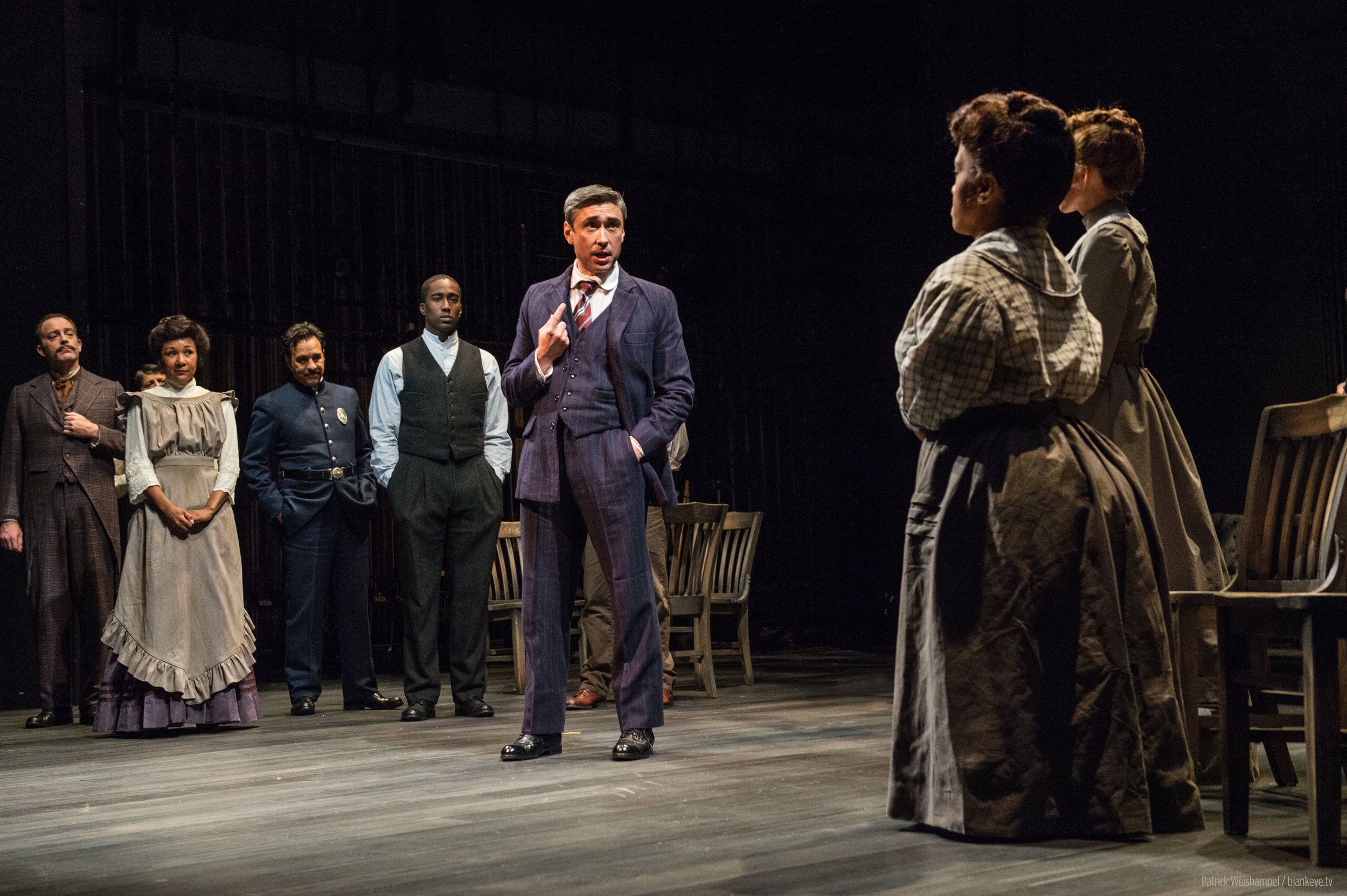 """As Editor Webb in """"Our Town"""" at    Portland Center Stage"""