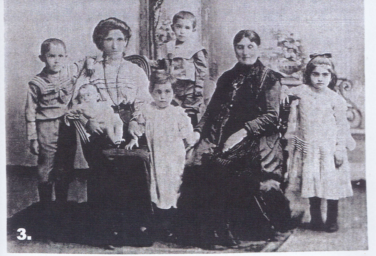 Members of my family including my great, great grandmother Raisa Bahcall.
