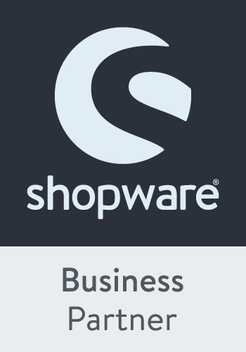 Wir sind Shopware Business Partner