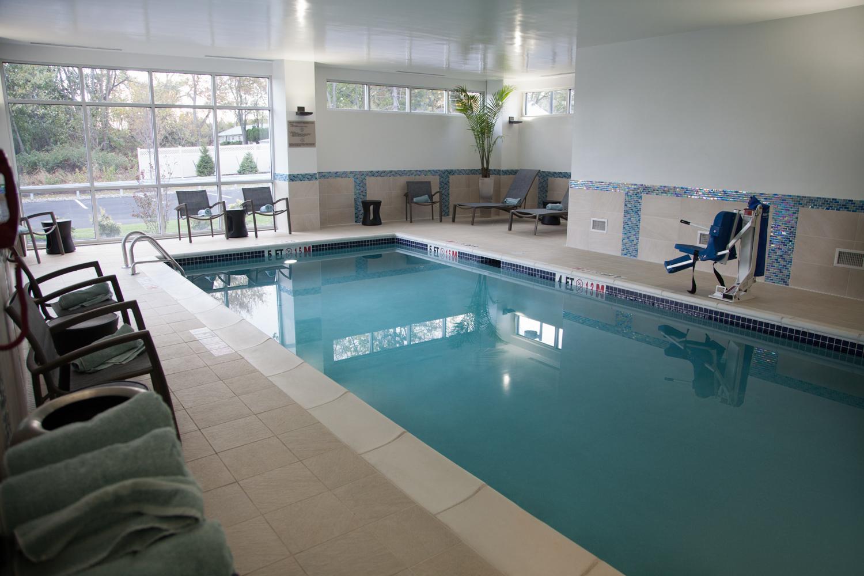 Marriott SpringHill Suites Somerset New Jersey Salt Water Pool