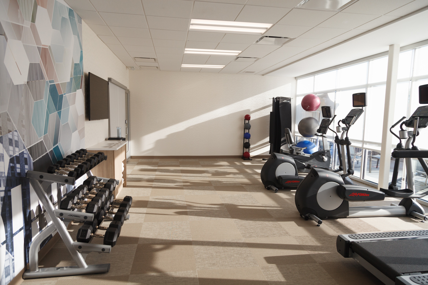 Marriott SpringHill Suites Somerset New Jersey Exercise Room