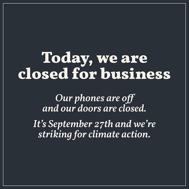 #notbusinessasusual #strikeforclimate #climatejustice