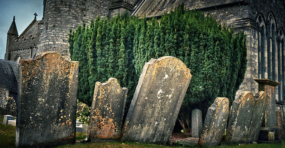 Tombs and churches - Names and records of the old people most likely kept by the churches that now mark a long proud history. Here it is it possible for descendants like me to trace back a lost heritage.
