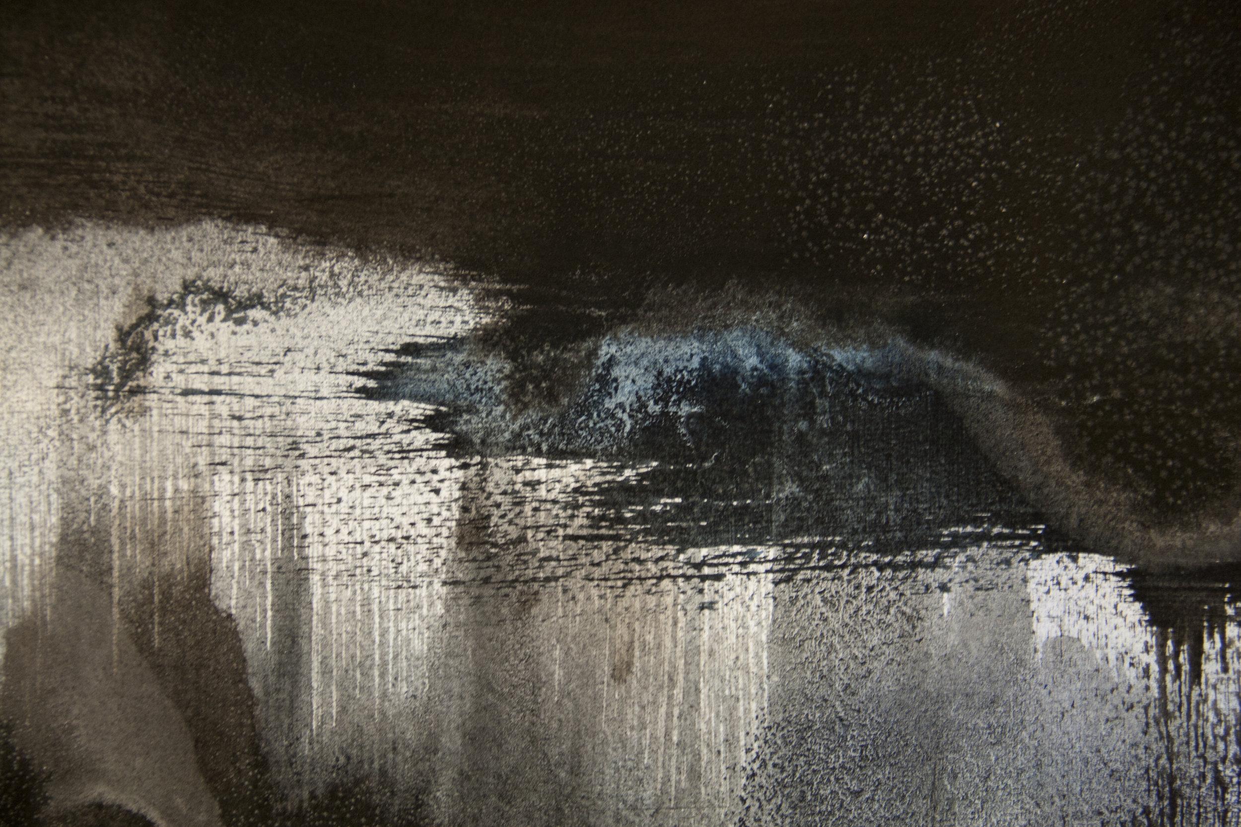 Nika Blasser,  Salt Land, Salt Sea: Drømme fra vor Jord  (detail).Photo by Minik Busk Langkjær.